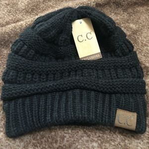 C.C Exclusive Black Beanie